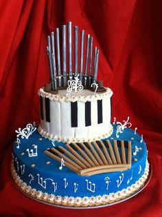 ORGAN CAKE-by Red Carpet Cake Design