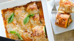 Enjoy all the flavors of zucchini vegetarian lasagna with less carbs and more veggies! Best Vegetarian Recipes, Veggie Recipes, Low Carb Recipes, Cooking Recipes, Vegetarian Meals, Lasagna Recipes, Lasagna Cups, Baked Lasagna, Zuchinni Recipes