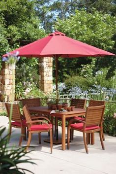 peru 6 seater rectangular garden furniture set homebase set includes table 6 stacking chairs parasol and seat pad cushions