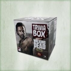 The Walking Dead Trivia Box http://www.shopthewalkingdead.com/the-walking-dead-trivia-box/details/117407015?cid=social-pinterest-m2social-product&current_country=US&ref=share&utm_campaign=m2social&utm_content=product&utm_medium=social&utm_source=pinterest $18.99