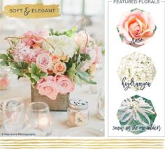 The Perfect Flowers For A Rustic Centerpiece - Rustic Wedding Chic