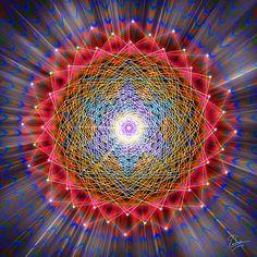 Sacred Geometry 146 by Endre Balogh - Sacred Geometry 146 Digital Art - Sacred Geometry 146 Fine Art Prints and Posters for Sale Sacred Geometry Art, Sacred Art, Geometry Tattoo, Crop Circles, Psy Art, Visionary Art, Flower Of Life, Psychedelic Art, Mandala Art