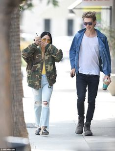 What's up? Vanessa Hudgens stepped out with boyfriend Austin Butler on Wednesday in Los An...