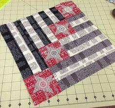 September Aurifil Designer Block - by Pat Wys | Flickr - Photo Sharing!