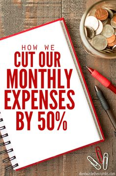 To stay at home with our son, we had to cut our monthly expenses by 50%. Here's how we did it, and how you can do it too. :: DontWastetheCrumbs.com