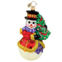 Image detail for -Christopher Radko Holiday Ornaments, Holiday Hugger Ornament