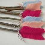 Flechas de fieltro: una bella manualidad para San Valentín