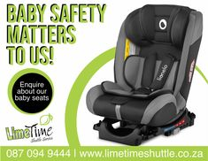 Your baby's safety is important to us. Not only does your little one receive 50% discount on their ticket, but you also don't have to pay or bring your own car seat with on your journey. We provide the car seat for free. You can book your ticket on our website at or contact us on 087 094 9444. #limetimeshuttle #babysafety
