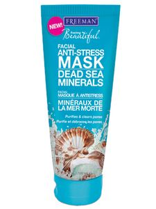 ~Dead Sea Minerals Facial Anti-Stress Mask~  Clay based anti-stress mask ideal for all skin types. Dead Sea Minerals clay mask instantly absorbs excess oil while clarifying and purging clogged pores.  Promotes relaxing aromatherapy. #beauty #mask #facialmask