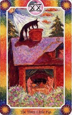The Three Little Pigs (Judgement) - Inner Child Cards