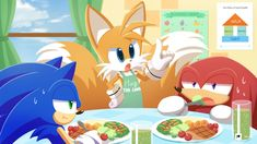Gee you guys need to take care of yourselves by HowXu on DeviantArt Sonic Heroes, Sonic Art, Fluttershy, Rainbow Dash, Character Description, Take Care Of Yourself, Sonic The Hedgehog, Cool Art, Pikachu