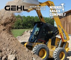 Choosing Between Radial Lift and Vertical Lift GEHL Skid Loaders Geometry, Arm, Construction, Building, Arms