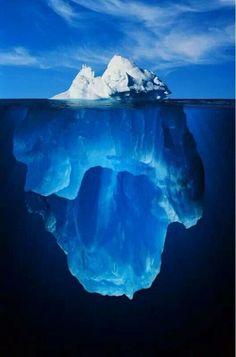 Iceberg split view