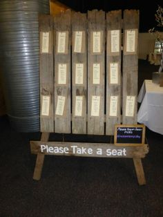 Table Seating, Take A Seat, Wedding Receptions, Rustic Charm, Business Ideas, Just Love, Make It Simple, Rustic Wedding, Brides