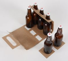 Dab beer packaging design by anita vask via behance clever much the beer carrier breaks down into coasters and easily recyclable paper pronofoot35fo Gallery