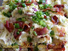 Amazing Loaded Baked Potato Salad