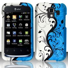 SnapOn Hard Phone Protect Cover Skin Case for Huawei Fusion 2 II U8665 Vine Blue | eBay