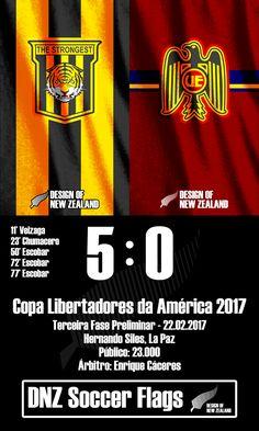 The Strongest 5 x 0 Unión Española
