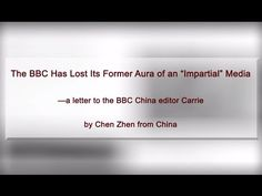 """The BBC Has Lost Its Former Aura of an """"Impartial"""" Media —a letter to th..."""
