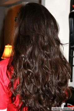 Awesome MOTIVATED Thick Dark Brown Wavy Virgin Locks Long - Hairstyles for dark brown thick hair