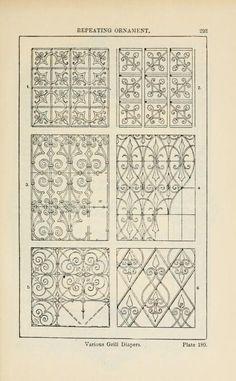 A handbook of ornament; P 293 PLATE 180