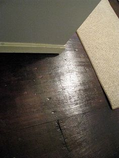 I am so doing this ----painted plywood floors as a low budget temporary solution after getting rid of ugly carpet - need to tell my sister Shari about this one!