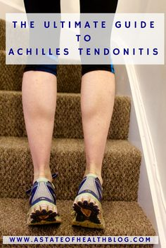 The ultimate guide to achilles tendonitis Achilles Tendonitis Exercises, Achilles Stretches, Achilles Pain, Running Injuries, Running Workouts, Circuit Workouts, Ab Circuit, Ankle Pain, Heel Pain