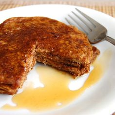 Sweet Potato Pancakes- once you make these you will never make regular pancakes again!