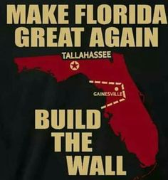 How's the wall coming? Hopefully it is completed soon, enforce it with steel rods for I don't want to see them damn Gator's till next year! Alabama College Football, Tennessee Volunteers Football, Florida State Football, Florida State University, Florida State Seminoles, Florida Gators, Ohio State Buckeyes, Seminole Football, Oklahoma Sooners