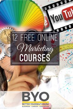 12 Free Online Marketing Courses - start your online marketing education with these free courses and understand how social media, affiliate, content and ppc marketing all work.