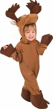 toddler moose costume #ToddlerCostume #HalloweenCostume #Halloween2014
