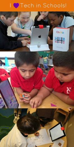 Osmo is committed to healthy technology in schools!  Osmo works with iPad and lets kids learn while playing outside of the screen - using physical manipulatives. Games are designed for the classroom and are customizable as well.