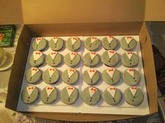Pee-wee herman bday cup cakes! one   by Jonny