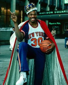 @Regrann from @espn -  King of New York? On this date in 1984 Bernard King scored 50 points  again. He became the first player since 1964 to drop 50 in back-to-back games. [Credit: Noren Trotman/NBAE] #Regrann