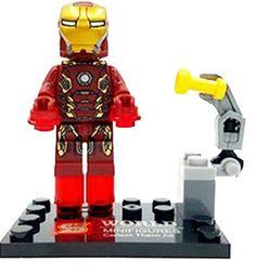 Minifigure Compatibile Lego - Iron Man - Avengers Supereroi S World http://www.amazon.it/dp/B01BF35DGQ/ref=cm_sw_r_pi_dp_N.FVwb08YAC1R