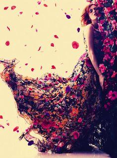 Pretty fashion photography (bazaar UK may 2013)