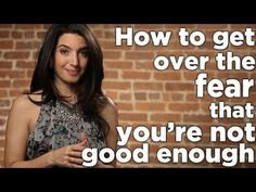 How to Get Over the Fear That You're Not Good Enough -- Learn more about Marie Forleo's program for entrepreneurs and sign up for her free business training videos.  http://theinnerentrepreneur.com/RHHB
