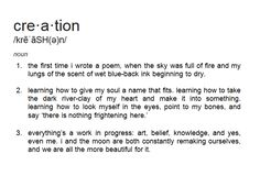 dictionary poem iv by keaton michael