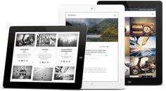 Aperture on Tablets  http://themeforest.net/item/aperture-full-featured-wordpress-theme/8058089