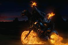 Carter Slade and Johnny Blaze- Ghost Riders