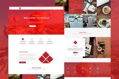 WW - One Page Responsive Theme by @Graphicsauthor