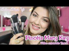 Maquiagem Olho Preto Esfumado Fácil Usando Mary kay - YouTube