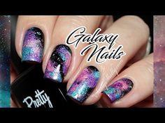 Galaxy Nail Art TUTO