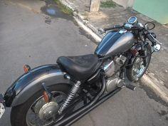 Old School Motorcycles, Vintage Motorcycles, Yamaha Virago, Bobber Bikes, Bobber Chopper, Inspiration, Biblical Inspiration, Inspirational, Inhalation
