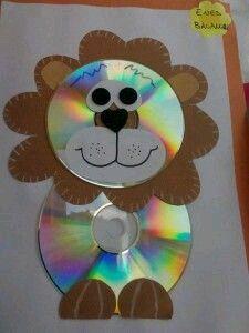 Kinder on pinterest manualidades con cd and felt bags - Manualidades con cd viejos ...