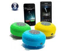 Altavoz Bluetooth resistente al agua con batería