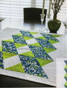 Modern Twist Quilt Pattern Pieced VJ