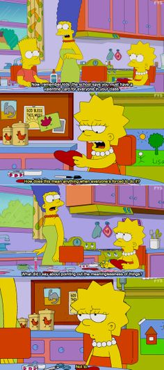 the simpsons, television, cartoons, valentine's day