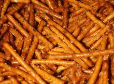 Spicy Pretzels aka Crack Pretzels!!! Recipe | Just A Pinch Recipes