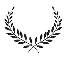 Abstract Illustration Of A Laurel With Lots Of Leaves Stock Image Logo Couronne, Laurel Wreath Tattoo, Laurel Tattoo, Neue Tattoos, Tatuagem Old School, Chest Tattoo, Tattoo Drawings, Tattoos For Guys, Sleeve Tattoos